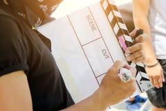 grupo de produção do filme Fotos de Stock