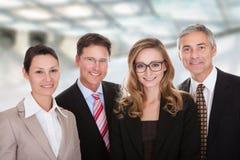Grupo de profissionais do negócio Fotografia de Stock