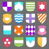 Grupo de protetores coloridos Imagens de Stock Royalty Free
