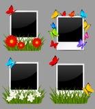 Grupo de quadros da foto Fotografia de Stock