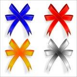 Grupo de quatro fitas decorativas Imagens de Stock Royalty Free