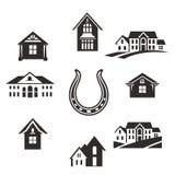 Grupo de Real Estate ilustração royalty free