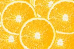 Grupo de rebanada anaranjada Imágenes de archivo libres de regalías