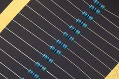 Grupo de resistores Imagenes de archivo