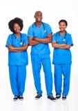 Profesionales médicos africanos Fotografía de archivo libre de regalías