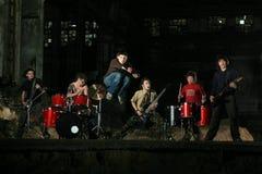 Grupo de roca Imagen de archivo libre de regalías