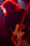 Grupo de rock americano Jason & os Scorchers Imagem de Stock Royalty Free