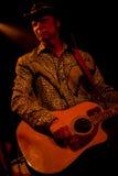 Grupo de rock americano Jason & os Scorchers Fotografia de Stock
