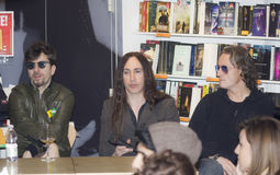 Grupo de rock de Afterhours Imagem de Stock Royalty Free