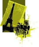 Grupo de rock de France ilustração royalty free