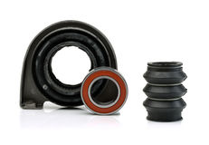 Grupo de rolamento do rolamento e do eixo do apoio do eixo de hélice Fotografia de Stock