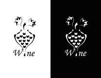 Grupo de símbolo do wiine ilustração stock
