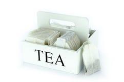 Grupo de saquinhos de chá Fotografia de Stock Royalty Free