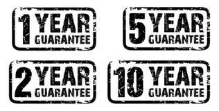 Grupo de selos da garantia Imagens de Stock Royalty Free