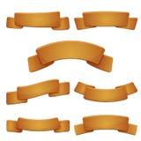 Grupo de sinais de madeira novos da bandeira Fotos de Stock Royalty Free