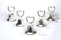 Grupo de sinos de casamento Imagem de Stock Royalty Free