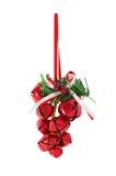 Grupo de sinos de Natal Imagens de Stock Royalty Free