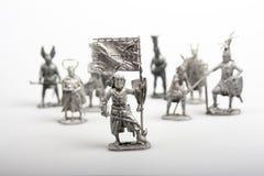 Grupo de soldados de brinquedo Imagem de Stock