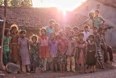Grupo de sonrisa Fotografía de archivo libre de regalías