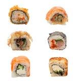 Grupo de sushi Fotografia de Stock