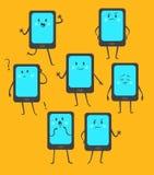 Grupo de telefone bonito Foto de Stock