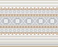 Grupo de teste padrão étnico do ornamento em cores diferentes Ilustração do vetor Foto de Stock Royalty Free