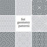 Grupo de testes padrões decorativos para fundos e texturas Fotografia de Stock