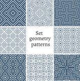 Grupo de testes padrões decorativos para fundos e texturas Fotografia de Stock Royalty Free