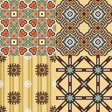 Grupo de testes padrões sem emenda. ilustração royalty free