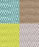 Grupo de testes padrões sem emenda com máscaras diferentes da cor Imagem de Stock