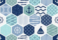 Grupo de testes padrões sem emenda do art deco Texturas modernas à moda Abstraia fundos Fotos de Stock Royalty Free