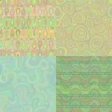 Grupo de testes padrões sem emenda do mosaico Fotos de Stock