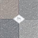 Grupo de textura do ouro da prata do brilho Fotografia de Stock