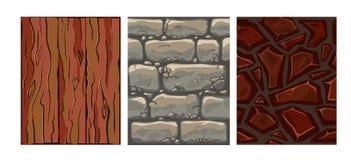 Grupo de textura sem emenda Imagem de Stock Royalty Free