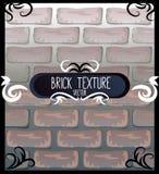 Grupo de texturas do tijolo Fotos de Stock