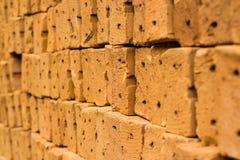 Grupo de tijolo Imagens de Stock Royalty Free