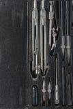 Grupo de tiragem na caixa negra Imagem de Stock Royalty Free