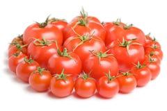 Grupo de tomatoes-11 Foto de Stock Royalty Free