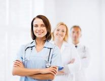 Grupo de trabalhadores médicos Imagem de Stock Royalty Free