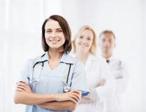 Grupo de trabalhadores médicos Foto de Stock