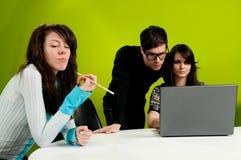 Grupo de trabalho Imagens de Stock