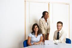 Grupo de trabalho dos executivos Foto de Stock