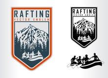 Grupo de transportar o logotipo dos emblemas ilustração stock