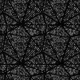Grupo de triângulos e de teste padrão sem emenda do vetor dos círculos Foto de Stock Royalty Free