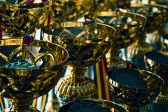 Grupo de trofeos Imagenes de archivo