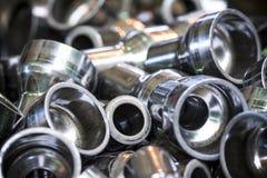 Grupo de tubos de acero Fotos de archivo