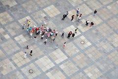 Grupo de turistas Imagens de Stock Royalty Free