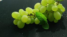 Grupo de uvas verdes filme