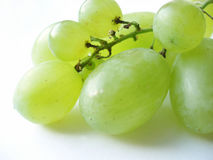 Grupo de uvas verdes Foto de Stock