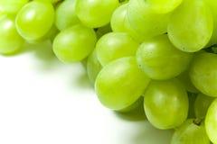 Grupo de uvas verdes Fotografia de Stock